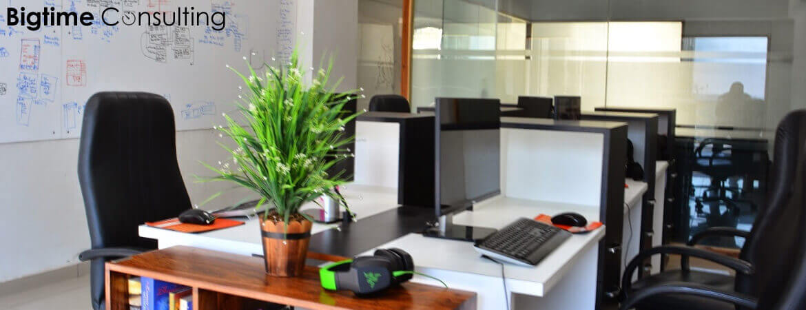 Bigtime Consulting - Bespoke Digital Solution - Office